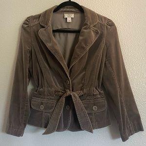 LOFT Ann Taylor Women's Suede Blazer Size 10P